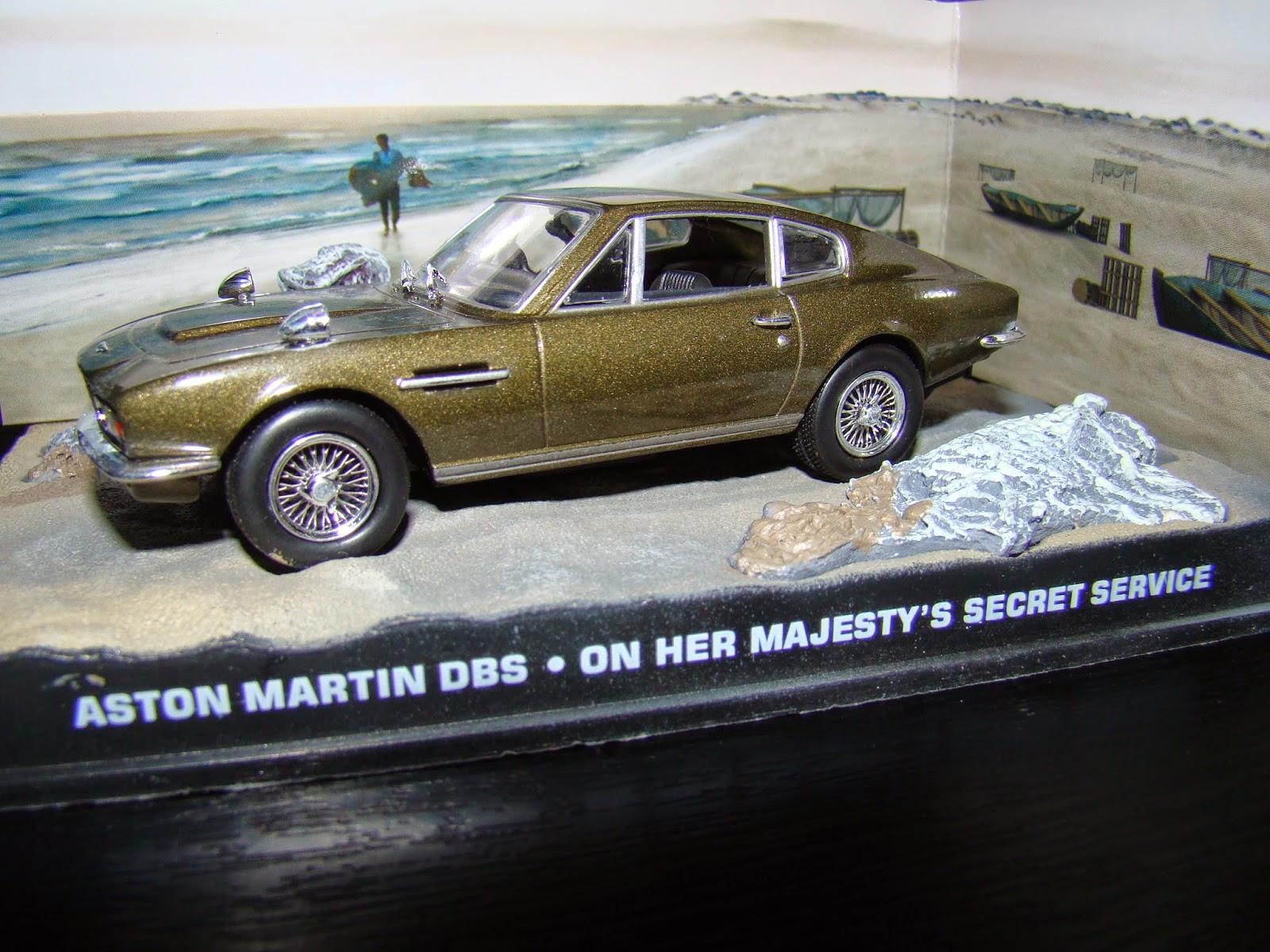 007 Vehicle Aston Martin Dbs On Her Majesty S Secret Service 1969